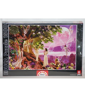 Educa Jigsaw Puzzle - The Secret Door - 1500 Pieces