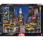 Educa Jigsaw Puzzle - Times Square, New York - 1000 pieces