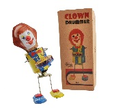 Welby Tin Treasures Clown Drummer