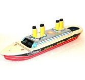Welby Tin Treasures Titanic Pop Pop Ship