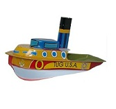 Welby Tin Treasures Tug U.S.A.