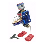 Welby Tin Treasures Robot Drummer