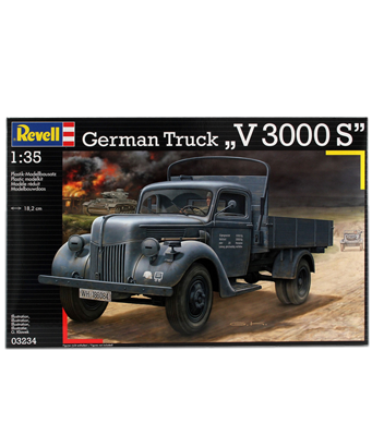 Revell German Truck