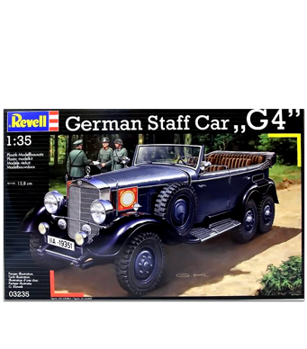 Revell German Staff Car G-4