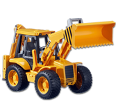 Bruder 2428 JCB 4CX Backhoe Loader