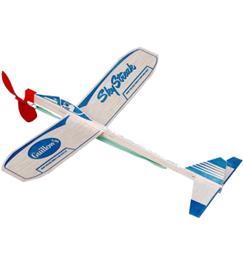 Guillow's Sky Streak - Pack of 2 Power Planes