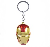 Marvel Avengers Iron Man Mask Metal Keychain