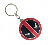 Marvel Spiderman Deadpool Metal Keychain