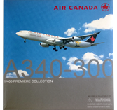 Dragon Air Canada A340-300 Diecast Plane Model