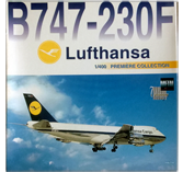 Dragon B747-230F Lufthansa Diecast Plane Model