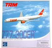 Dragon TAM 777-300 ER Diecast Plane Model
