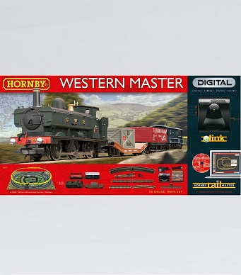 Hornby Western Master Digital Train Set with eLink