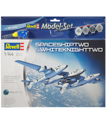 Revell Model Set SpaceshipTwo & WhiteknightTwo