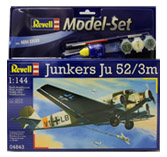 Revell Model Set Junkers Ju52/3m