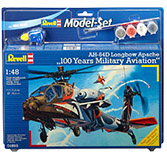 Revell Model Set AH-64D Apache 100 Years Military Aviati