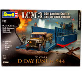 Revell D-Day Set (LCM3 & 4x4 Off Road Vehicle)