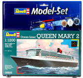 Revell Model Set Queen Mary 2