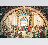 Clementoni Jigsaw Puzzle - Museum Collection - School of Athens - 1000 Pieces