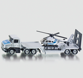 Siku 1610 - Low Loader with Helicopter