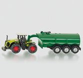 Siku 1666 - Claas Xerion with Barrel Vehicle