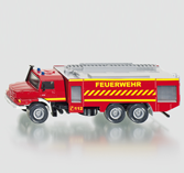 Siku 2109 - Mercedes Zetros Fire Engine