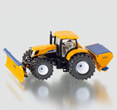 Siku 2940 - Tractor with Ploughing Plate and Salt Spreader