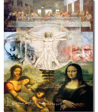 Educa Jigsaw Puzzle - Da Vinci's World - 1000 Pieces