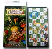 Portable Snakes & Ladders Game